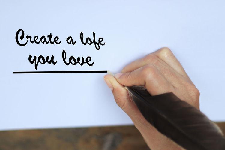 Create a lofe