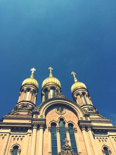 Church Neroberg Gold Golden