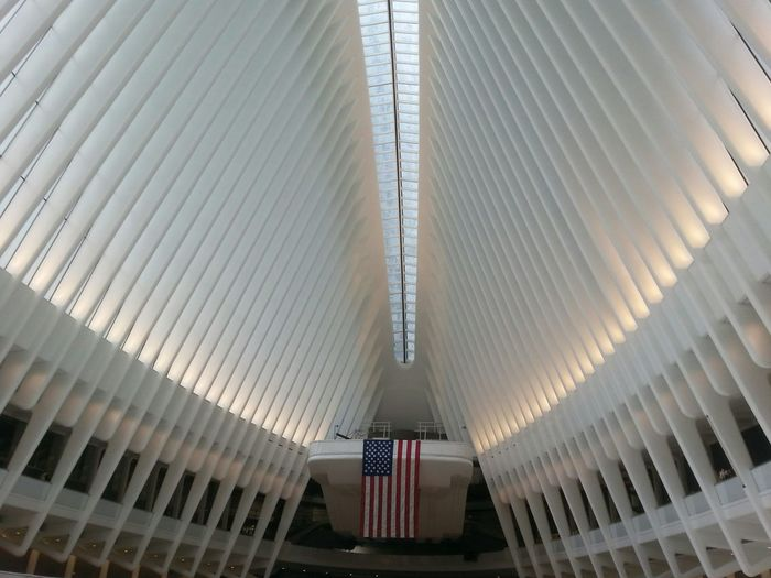 World Trade Center Relaxing Hanging Out Downtown Manhattan World Trade Center