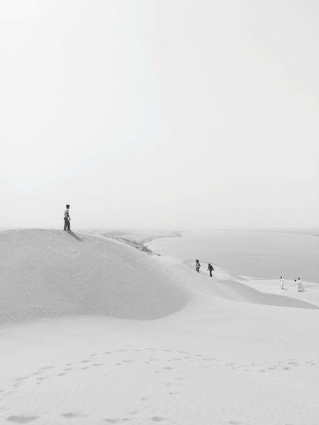 Snow Full Length Winter Cold Temperature Adventure Sky Landscape