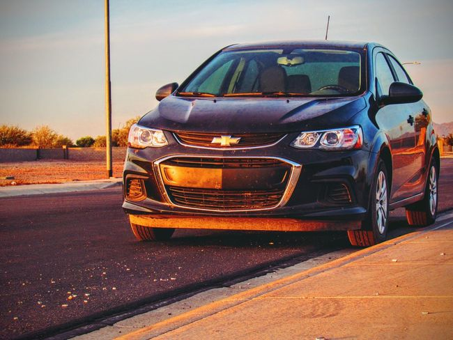 Quick practice shot at the park. Arizona Sky Chevy Sonic Chevy Retro Styled Old-fashioned Mode Of Transport Sky