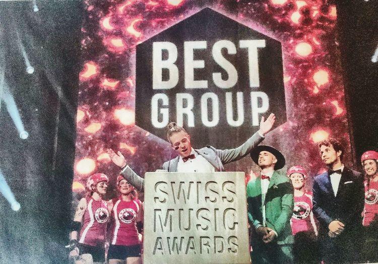 Swiss Music Awards... Yesterday Swiss Music Awards Swissmade Music