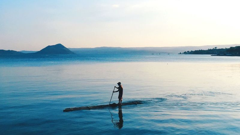 Taal Lake 1/3 Batangas, Philippines The Places I've Been Today From Where I Stand People Traveling Travel