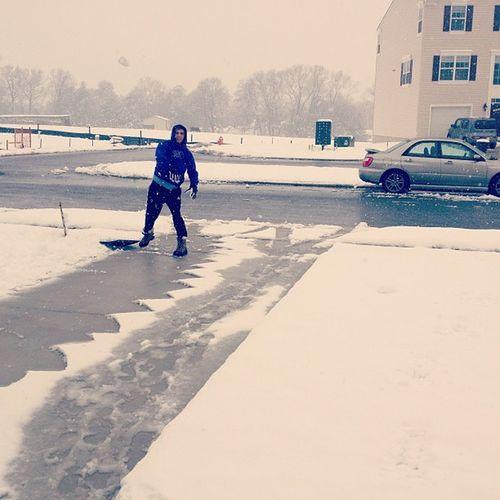sneak attack hahaha Snowballs Snow Subaru @m_us1k
