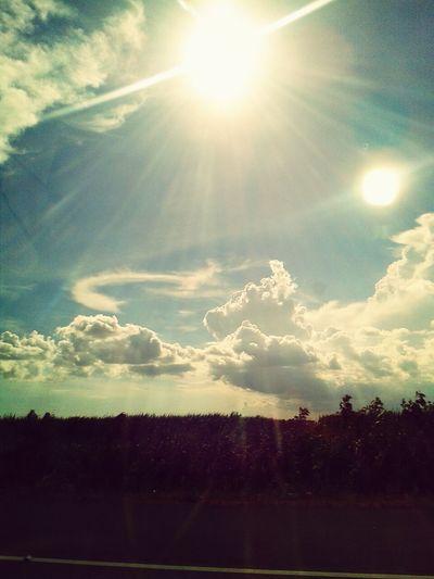dominican sky!