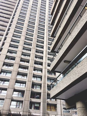 Architecture Skyscraper Modern Low Angle View Built Structure Barbican Brutalism No People City Building Exterior Exploring Architecturelovers Urban