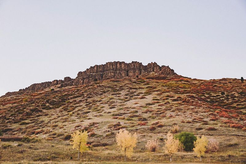 Rock formation outside of Golden, CO Rock Formation Golden Colorado Cliff Landscape Mountain Scenics Rock - Object Geology Clear Sky Low Angle View Nature Sky No People Physical Geography Day Outdoors Beauty In Nature Travel Destinations Desert Arid Climate Rock Hoodoo
