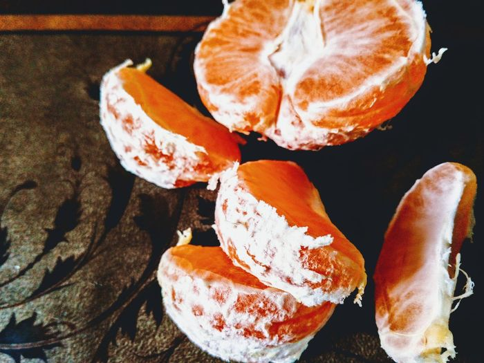 Healthy Eating Food Orange Orange Color Orange - Fruit Eating Healthy Mandarin Mandarins Mandarin Oranges Mandarine Winter Winterfruit Freshness