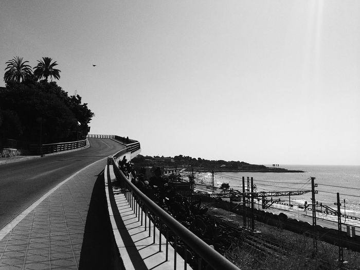 Clear Sky Sea Blackandwhite Iphoneonly Mobilephotography Iphonephotography Shushannaagapi Shushannaagapiphoto SPAIN Outdoors Day Lifestyles Sunlight The Way Forward Tree Nature Beach Sky Road Horizon Over Water No People Architecture Palm Tree EyeEmNewHere The Secret Spaces Long Goodbye Neighborhood Map