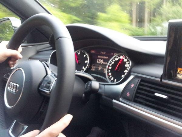 Bisschen Audi A6 fahrn :) Testfahrt :D