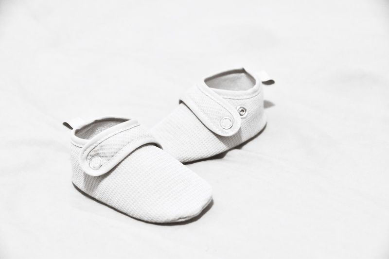 Baby shoes in