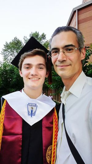 Mister Brown is proud... 😁 My Son Proudpapa Graduation High School Scholar National Honor Society Kell Highschool