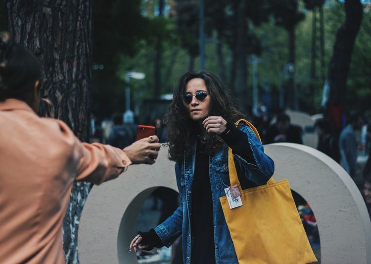 https://www.instagram.com/david_sarkisov_photography/ Adult Day Fashion Glasses Hairstyle Holding Incidental People Leisure Activity Lifestyles Outdoors People Plant Real People Standing Sunglasses Tree Two People Waist Up Women Young Adult Young Women Adventures In The City Focus On The Story Modern Hospitality The Fashion Photographer - 2018 EyeEm Awards The Street Photographer - 2018 EyeEm Awards The Portraitist - 2018 EyeEm Awards The Photojournalist - 2018 EyeEm Awards Urban Fashion Jungle A New Beginning This Is Natural Beauty 50 Ways Of Seeing: Gratitude The Modern Professional Human Connection My Best Photo