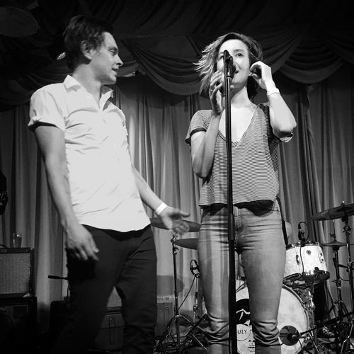 July Talk Check This Out Concert Band Shots Sing For Me July Talk Epic Black And White