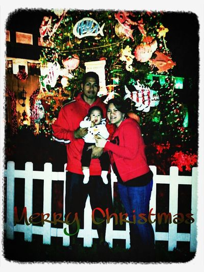 Our First Family Christmas Pic! ♥