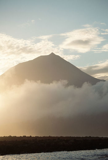 Azores Mount Pico Beauty In Nature Day Landscape Mountain Nature No People Outdoors Pico Scenics Sky Tranquil Scene Tranquility Water