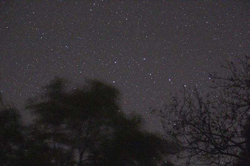 Big Dipper Plow 北斗七星 まだ寒い 風強い 天体観測 Astrophotography
