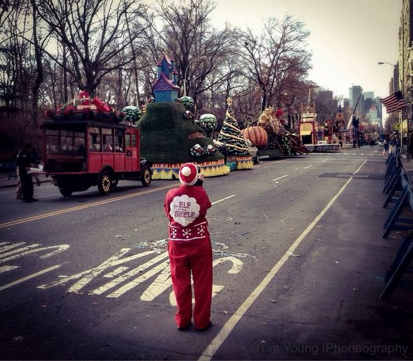 X-ING the ELF on the Shelf | Macy's Thanksgiving Parade Happy Thanksgiving!! Fall 2013