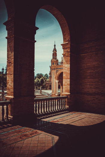 Architecture Built Structure Arch History Building Exterior The Past Sky Nature Building No People Travel Destinations Religion Day Water Tourism Place Of Worship Sunlight Belief Spirituality Outdoors Courtyard  Architectural Column Arched Sevilla Sevilla Spain EyeEm Best Shots EyeEmNewHere EyeEm Selects EyeEm Nature Lover Enjoying Life The Architect - 2019 EyeEm Awards