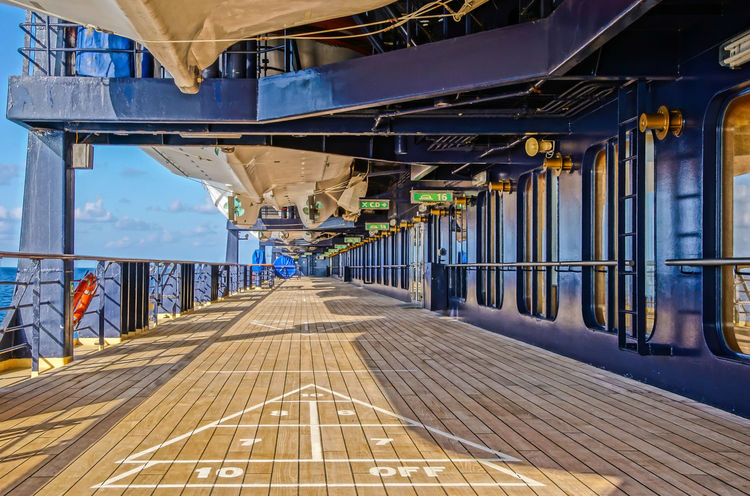 Blue Board Building Exterior Built Structure Cruise Ship Cruising Day Deck Nautical Vessel One Person Outdoors Ship Shuffle Sky The Way Forward Water