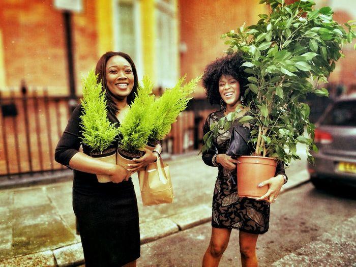 Hot ladies with plants! A harmless fetish. EyeEm Best Shots - The Streets The Moment - 2015 EyeEm Awards The Street Photographer - 2015 EyeEm Awards The Portraitist - 2015 EyeEm Awards
