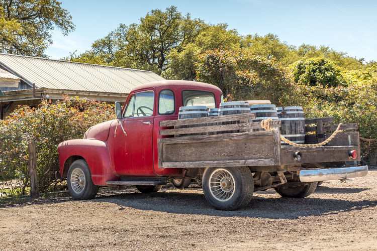 Red, old pickup truck and wine barrels Wine Truck Vintage Barrel Delivery Open California Old Vineyard Light Barrels Blue Unusual Pickup Sonoma Business Background Travel Retro Nobody Drink Transport Beer Wooden France Valley Outdoors Country Car Vehicle Wines Back Italy Red Texas Transportation Mode Of Transportation Land Vehicle Abandoned Pick-up Truck Motor Vehicle Retro Styled Stationary No People Sunlight