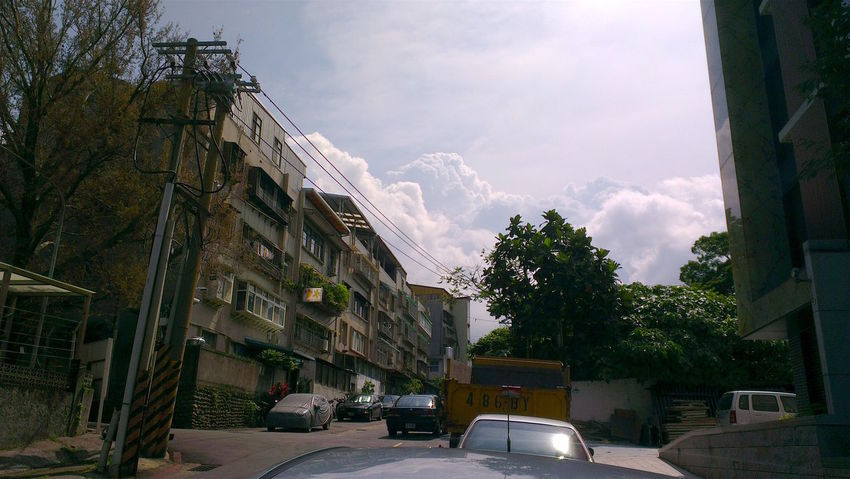 Architecture Built Structure City City Life City Street Cloud Cloud - Sky MyCommute Residential Building Sky The Way Forward Beitou Taiwan