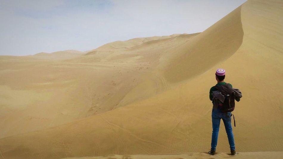 China China Beauty Landscape Nature Meditation Desert