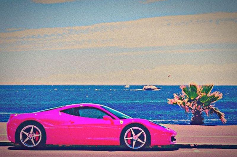 Beach Photography Style Cars