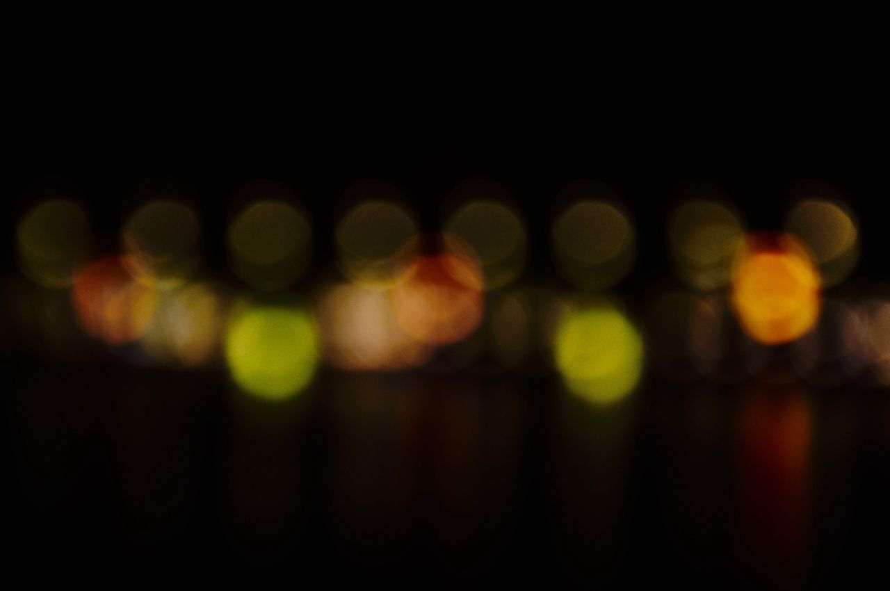 defocused, illuminated, night, abstract, backgrounds, pattern, no people, light effect, outdoors, close-up, disco lights