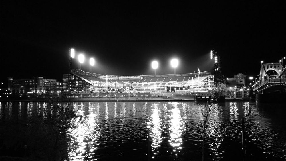Pittsburgh, PA Blackandwhite PNC Park Pittsburghpirates Pittsburgh