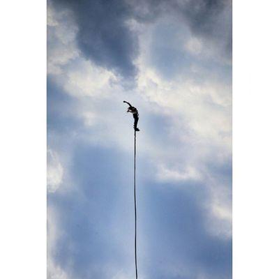 Freedom Skyisthelimit Sky Clouds Bluesky Canon Bungee Gtcreate
