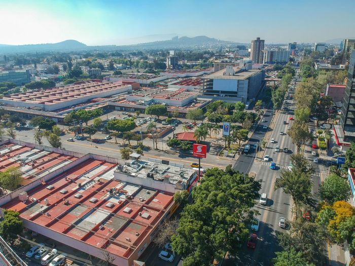 Jalisco Zapopan Building Exterior Architecture Built Structure City Building High Angle View Cityscape Residential District Street Transportation Outdoors
