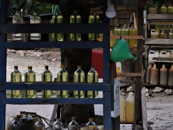 Bottles Energy Fossil Energy Fossil Fuel Gas Station Gasolinestation Subsidy Energy Transportation