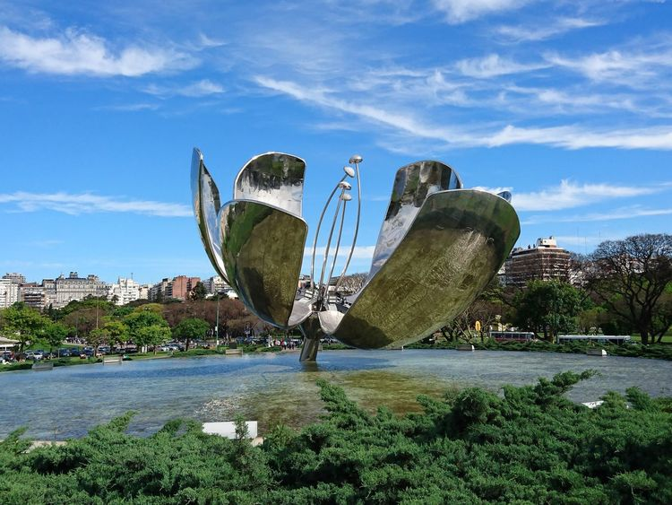 Floralis Generica - Bs As - Argentina. Flower Cityscapes Argentina Photography Cloud - Sky Day