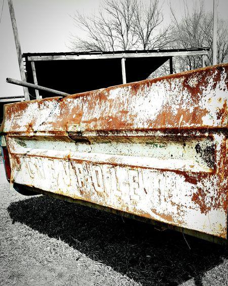 No People Outdoors Eyeemphoto Color Splash Color Pop Tailgate  Truck