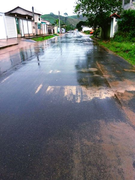Asphalt Day Water Road Long Street Sky Rainy Day Rain Drops Raining Day Raining Outside RainingSeason Reflection Reflect Reflections In The Water Reflections Reflection Photography
