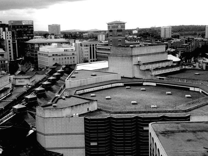 Balck/White urban Birmingham England Embrace Urban Life
