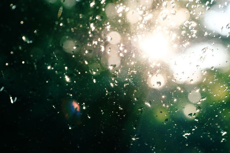 raindrops and sun! Summertime