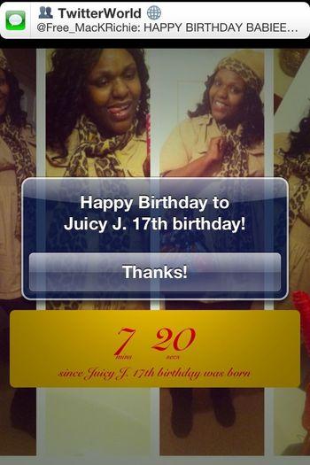 Birthday countdown as ended!!! Yayyyy...