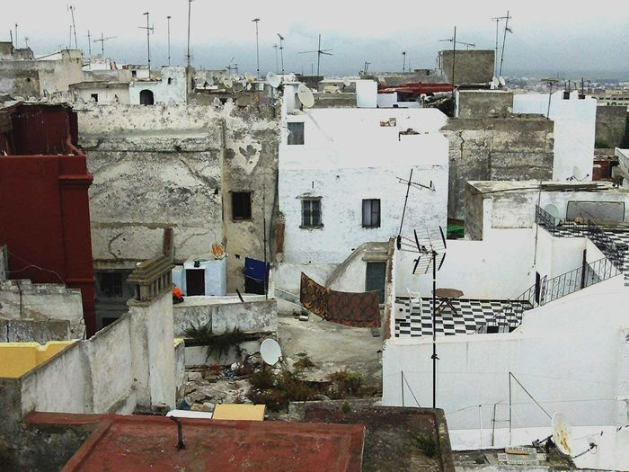 Moroccan Rooftops Morroco Rooftops Building Exterior Architecture Built Structure Day Residential Building No People Outdoors Sky City Morrocan Morrocan Rooftops