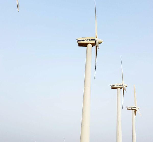 Morning Sky Wednesday Sky Wind Turbine Wind Power Letsgo Jobtime