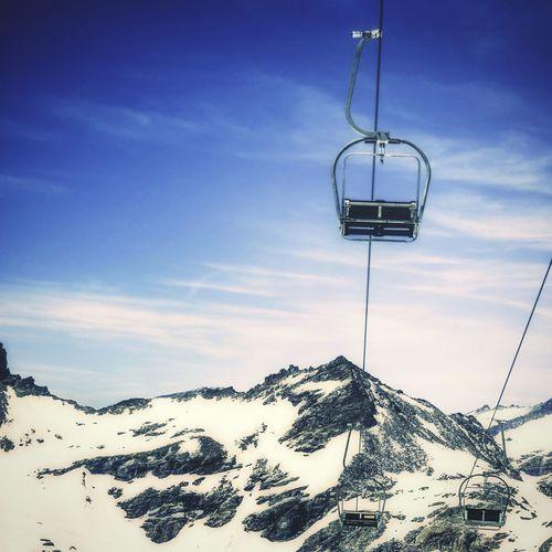 Sesselbahn in österreich Taking Photos Skiing Sessellift Sesselbahn Ski Lift Travel Photography Travel Wintersport Kärnten MölltalerGletscher