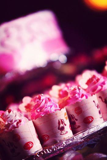 Cup cake. Closeup Cakes Wedding Enjoying Life