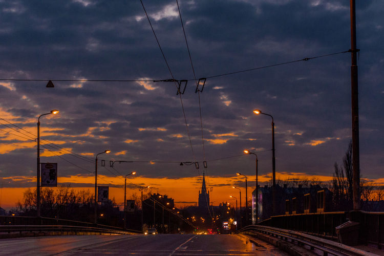 Sunsets in Riga