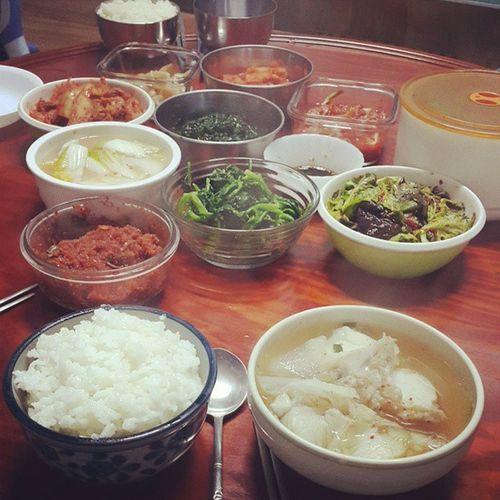 집밥 메기국 메기찜 남해
