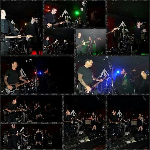 Thanks to @xtinebatz for this collage of live shots from our show with Thrillofthepull and Altardefey at Thenightlight TheHangingGarden thehanginggarden @ciderupshows liveinconcert livemusic gothclub deathrock gothicrock oaklandevents
