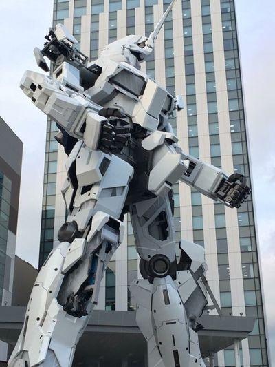 ユニコーンガンダム…ユニコーンモード。 Gundam Odaiba
