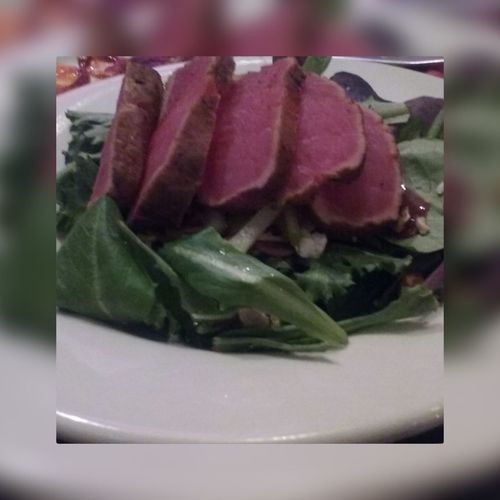 Taken by me . Edited By phot app . Picture taken at fridays . Richfood