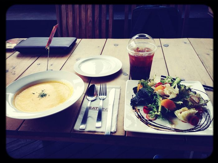 Carrot Soup Salad EATNINE